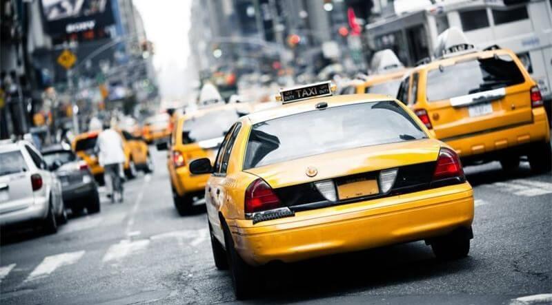 Как узнать машину, работавшую в такси