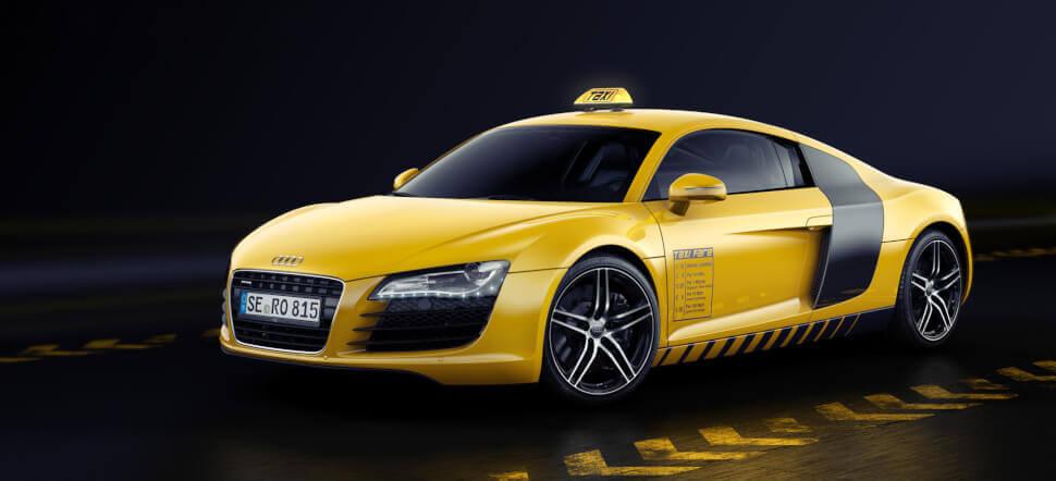 Машина для такси бизнес-класса