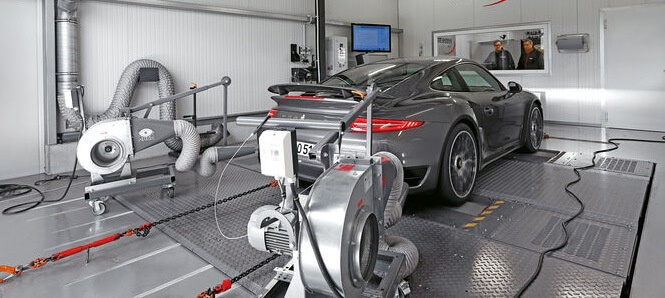 проверить мощность двигателя автомобиля