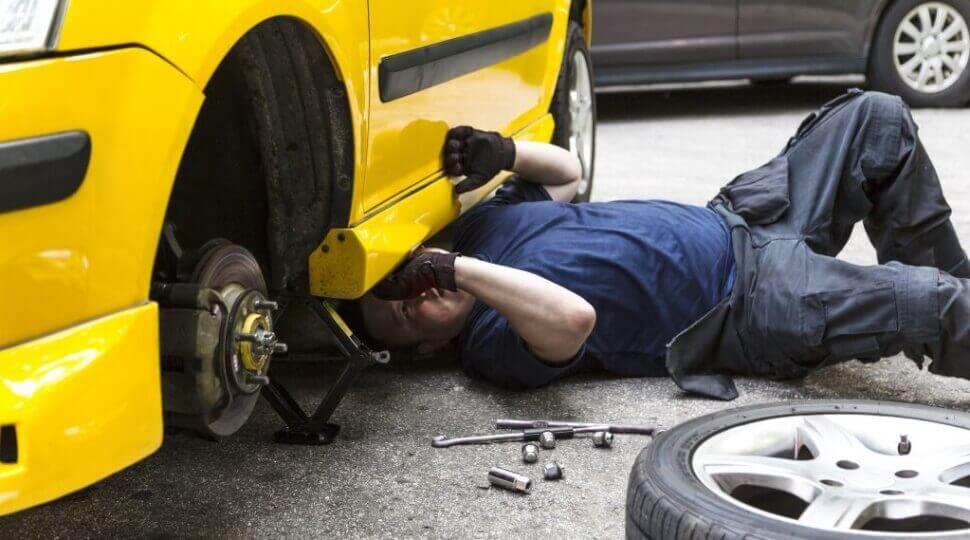 проверка ходовой части автомобиля