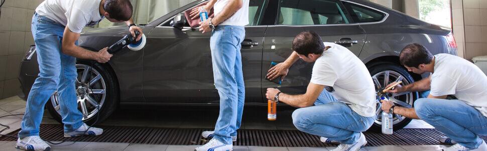 Подготовка кузова авто перед продажей