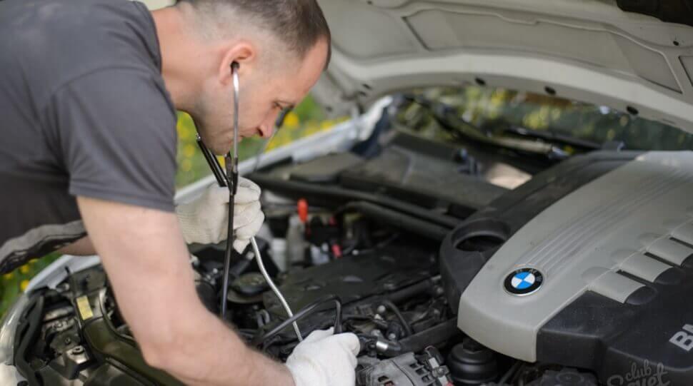 Подготовка двигателя авто к продаже
