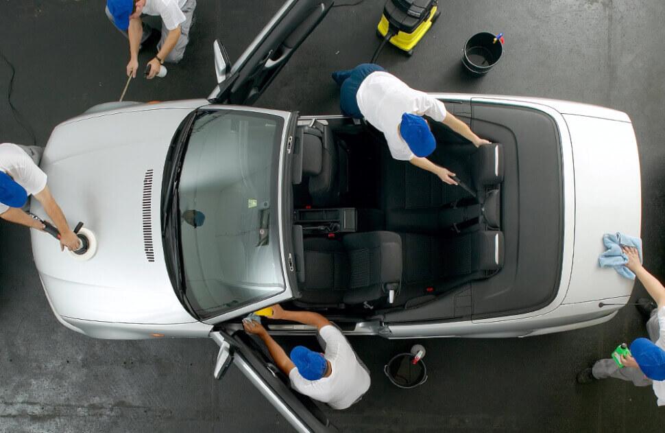 Подготовка к продаже автомобиля после такси
