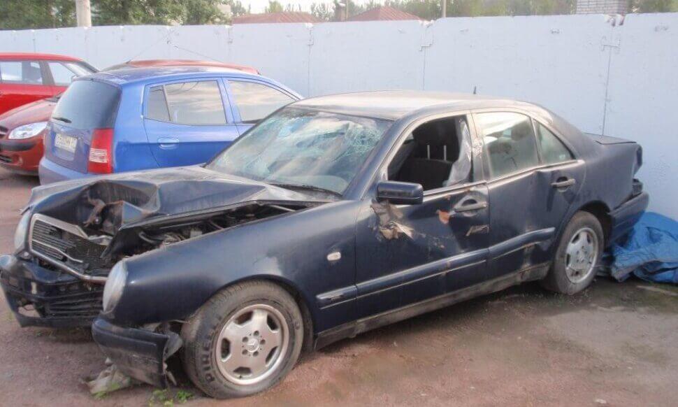 Продать аварийный автомобиль