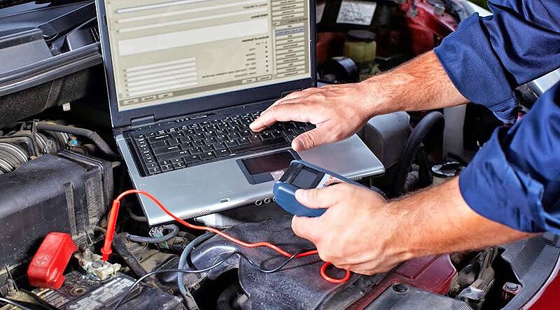 Проверка электронной системы управления двигателем перед покупкой