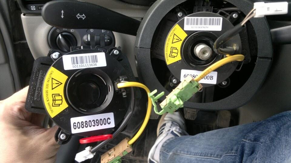проверить наличие подушек безопасности в автомобиле