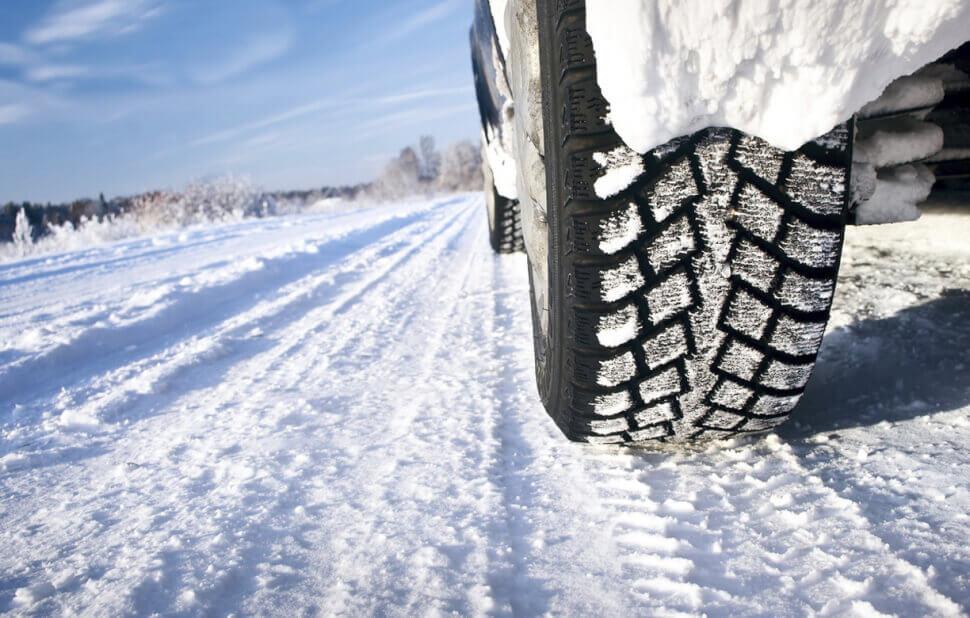 Покупка машины на зимней резине, проверка протектора