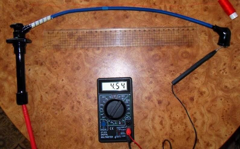 Проверка вв проводов мультиметром ваз 2114