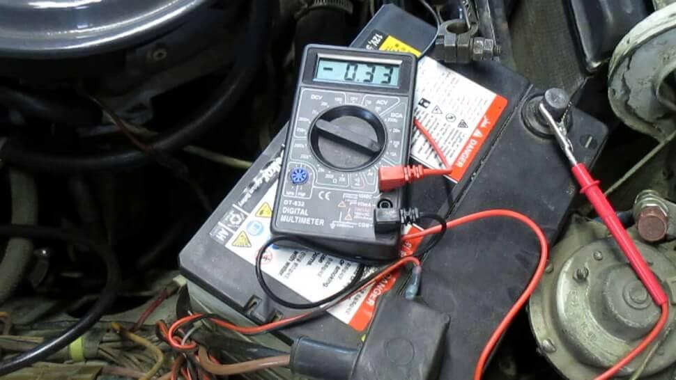 Показатели силы тока в электрике автомобиля