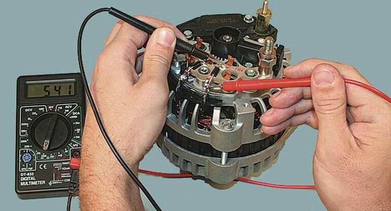 Проверка генератора автомобиля