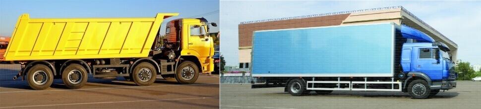 Выбор грузового авто - Тип кузова