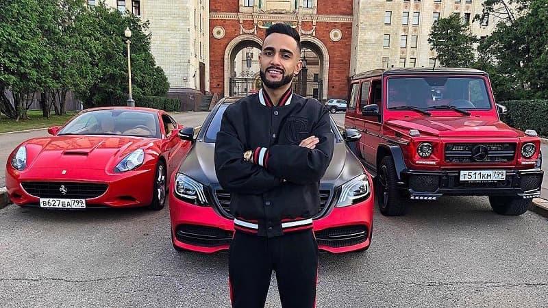 Автомобили блогера Гусейна Гасанова