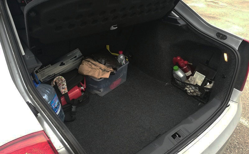 багажник октавии