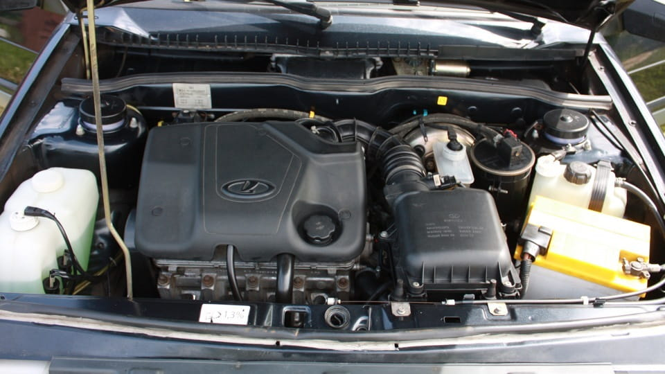 Лада Гранта двигатель