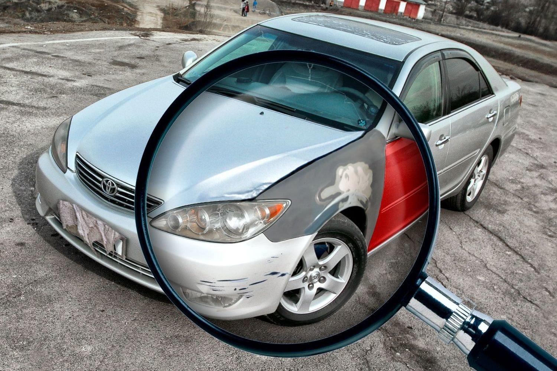 Как понять, что автомобиль били / красили