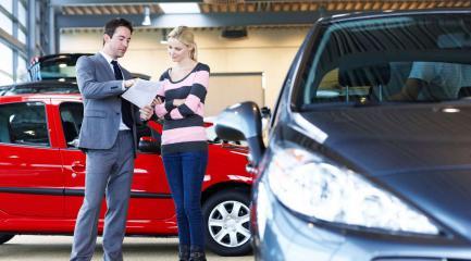 Приобретение машины в кредит у официального дилера