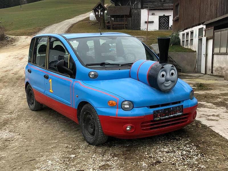 нелепые авто