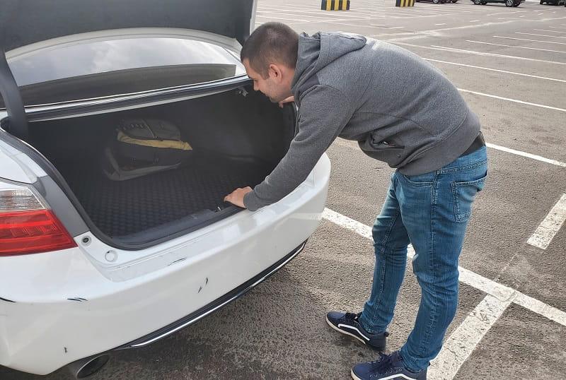багажник хонда