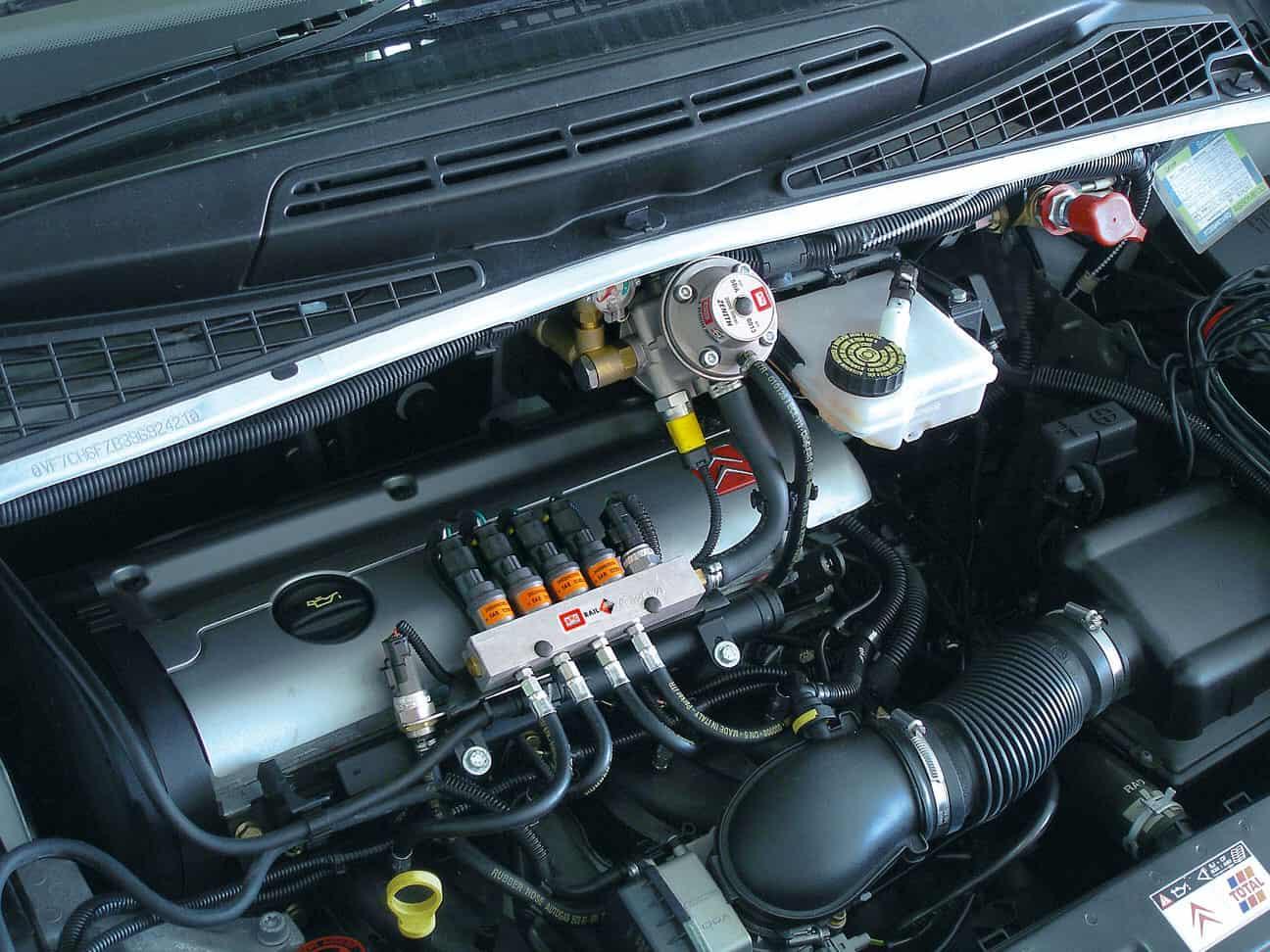 Гбо двигатель