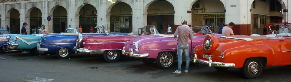 кабриолеты разного цвета