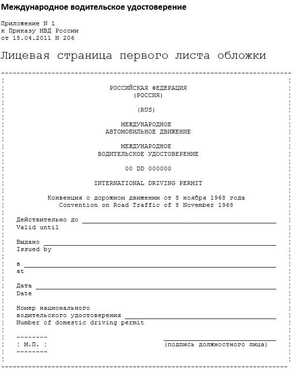 Российские и международные права
