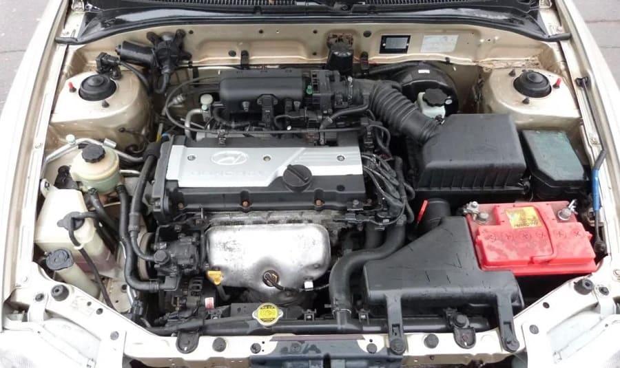 motor-Hyundai Accent II